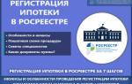 Срок регистрации ипотеки в росреестре: документы