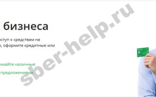 Бизнес карта сбербанка для ип: что это такое