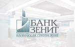 Банк зенит: проблемы сегодня